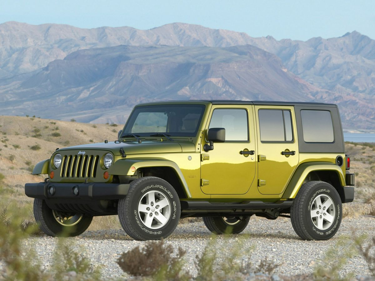 Pre Owned 2007 Jeep Wrangler Unlimited X