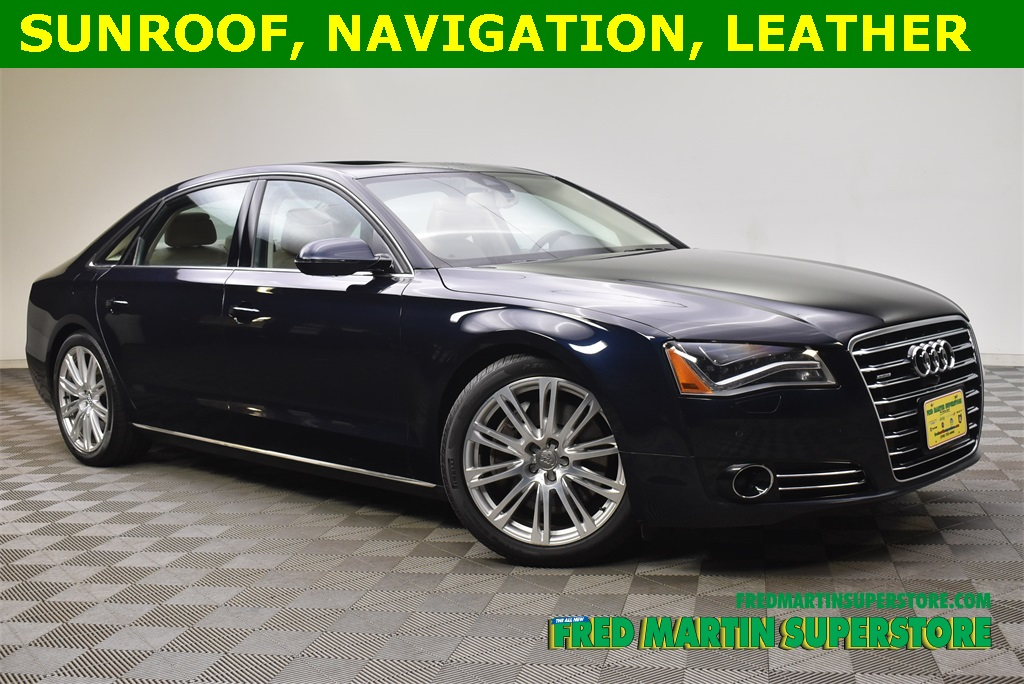 Pre-Owned 2013 Audi A8 L 4.0T